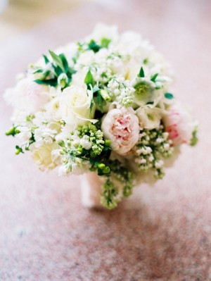 Pink-Ivory-Rose-Bouquet