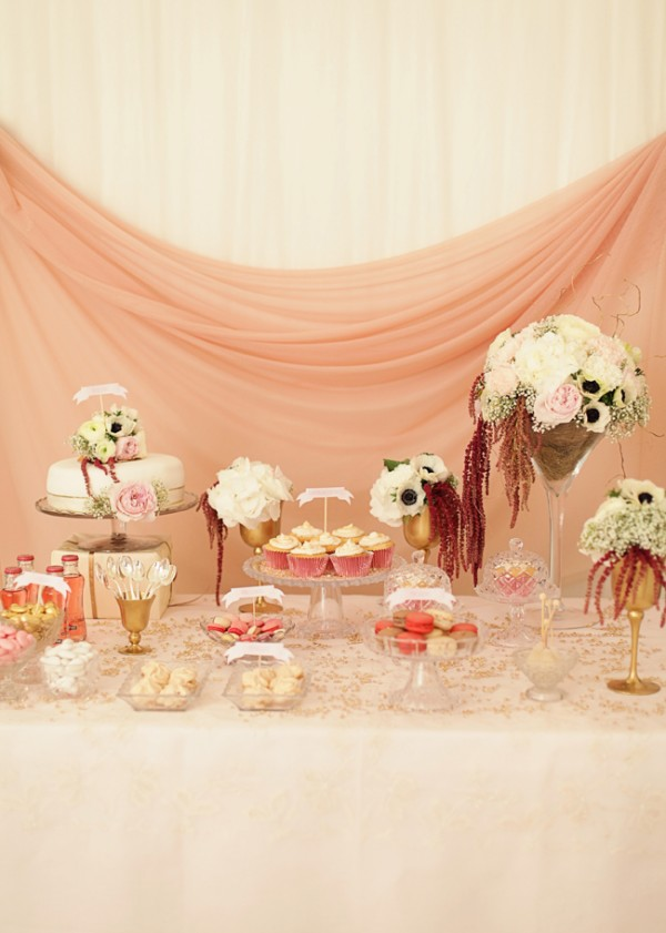 Pink-Wedding-Dessert-Table