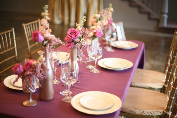 Purple-Copper-Table-Wedding-Colors