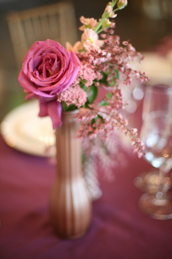 Purple-Rose-Rice-Flower-Centerpiece - Elizabeth Anne Designs: The ...