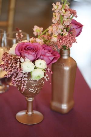 Ranunculus-Roses-Bronze-Vases