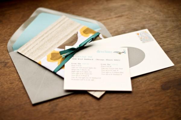 Retro-Blue-Yellow-Wedding-Invitations