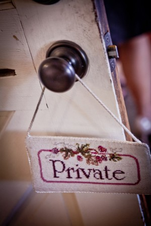 Room-Privacy-Sign