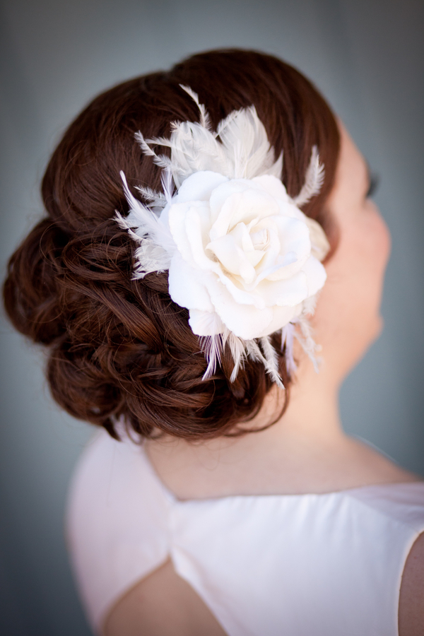 Rose-and-Feather-Headpiece