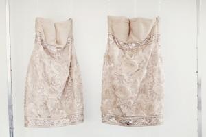 Silver-Rosette-Bridesmaid-Dresses