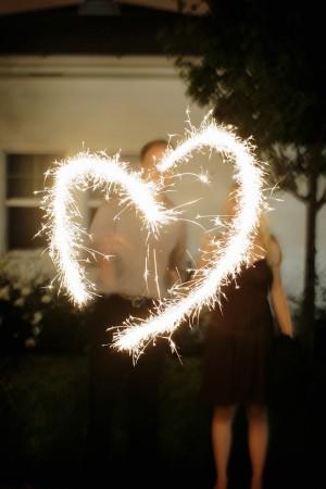 Sparkler-Heart