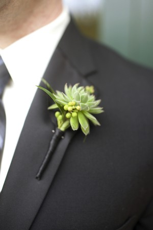 Succulent-Boutonniere