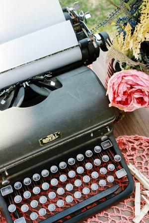 Typewriter-Guest-Book