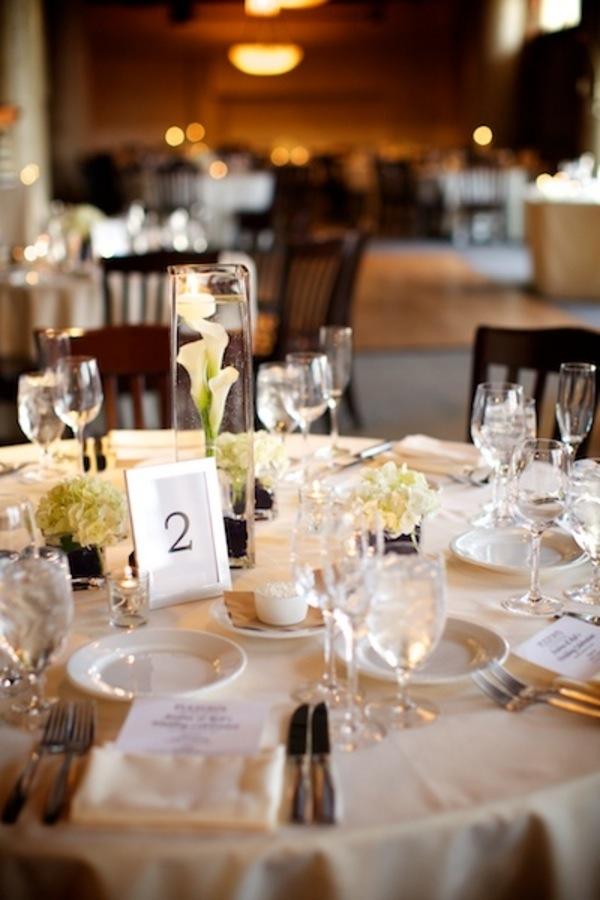 Black And White Wedding Decor Elizabeth Anne Designs The Wedding Blog