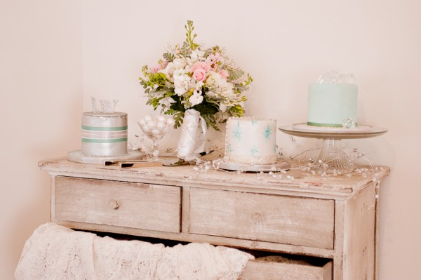Blue-Cake-Table
