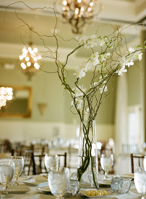 Branch centerpieces elizabeth anne designs the wedding