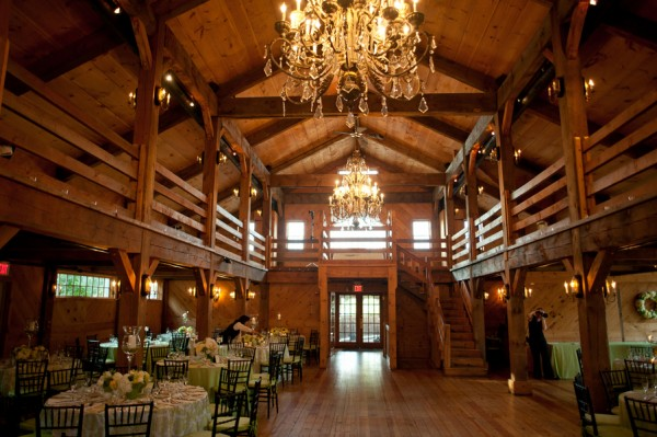 Chandeliers in barn elizabeth anne designs the wedding blog chandeliers in barn mozeypictures Gallery