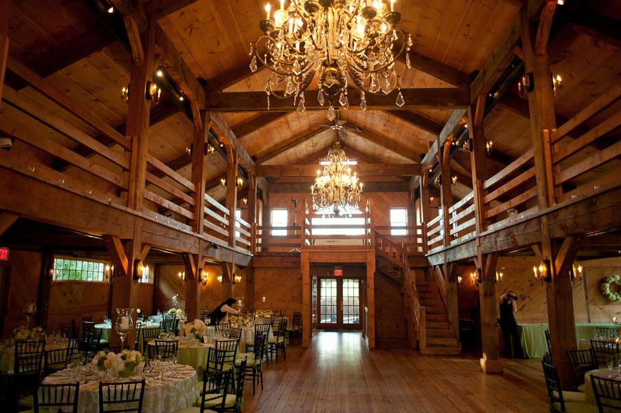 Chandeliers In Barn Elizabeth Anne Designs The Wedding Blog