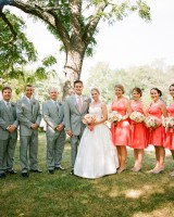 Classic-Southern-Pink-Wedding-Party