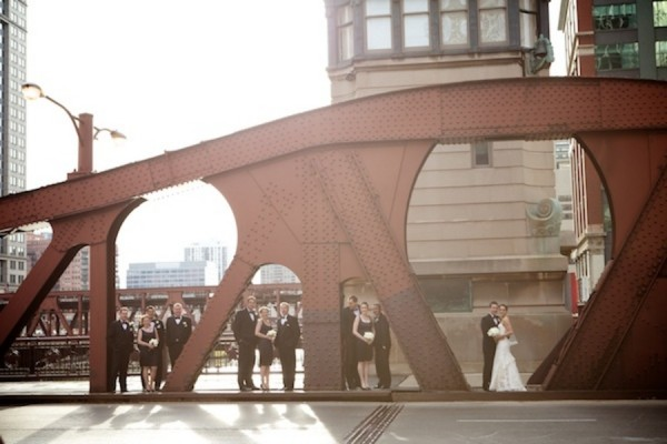 Downtown-Chicago-Wedding-Party