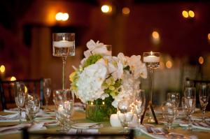 Elegant-White-Orchid-and-Hydrangea-Centerpiece