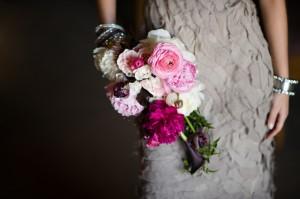 Fuchsia-Bouquet