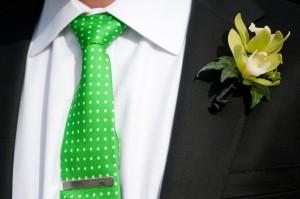 Groom-Tie-Bright-Green