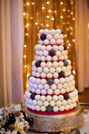 Modern-Gumball-Wedding-Cake