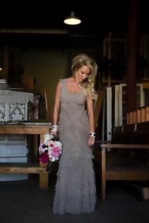 Modern-Silver-Bridal-Gown
