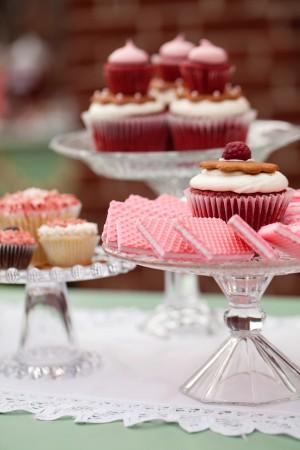 Pink-Red-Wedding-Dessert-Table