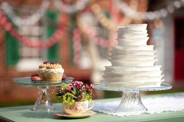 Ruffled-Cake