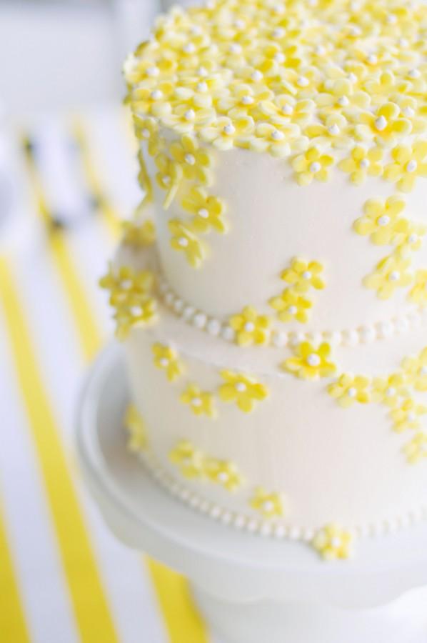 Yellow-White-Wedding-Cake - Elizabeth Anne Designs: The Wedding Blog