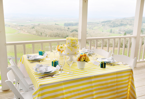 Yellow-and-Teal-Wedding-Colors