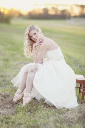 Ballet Inspired Bridal Portraits
