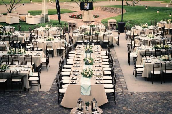 Elegant Outdoor Wedding Reception Elizabeth Anne Designs The