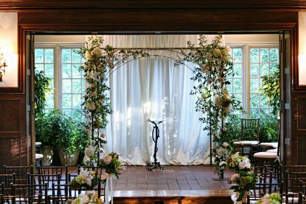 Fl Arch Wedding Ceremony