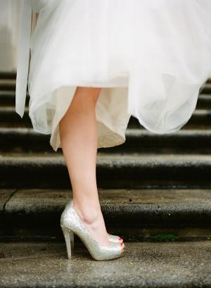 Gold-Glitter-Heels