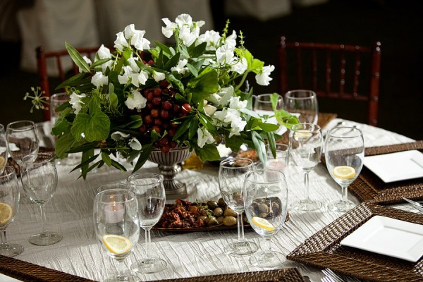 Olive-Branch-and-Herb-Centerpiece