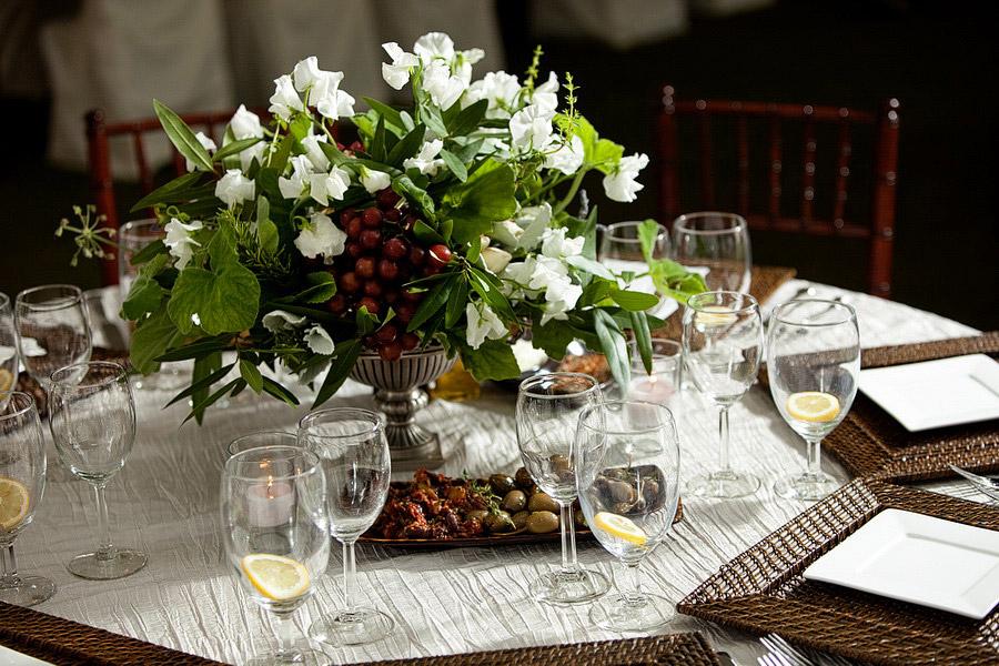 Olive Branch And Herb Centerpiece Elizabeth Anne Designs