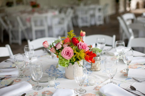 Pink-Red-Green-Centerpiece