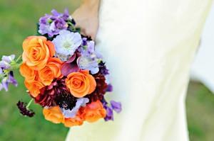 Purple-Orange-Bouquet