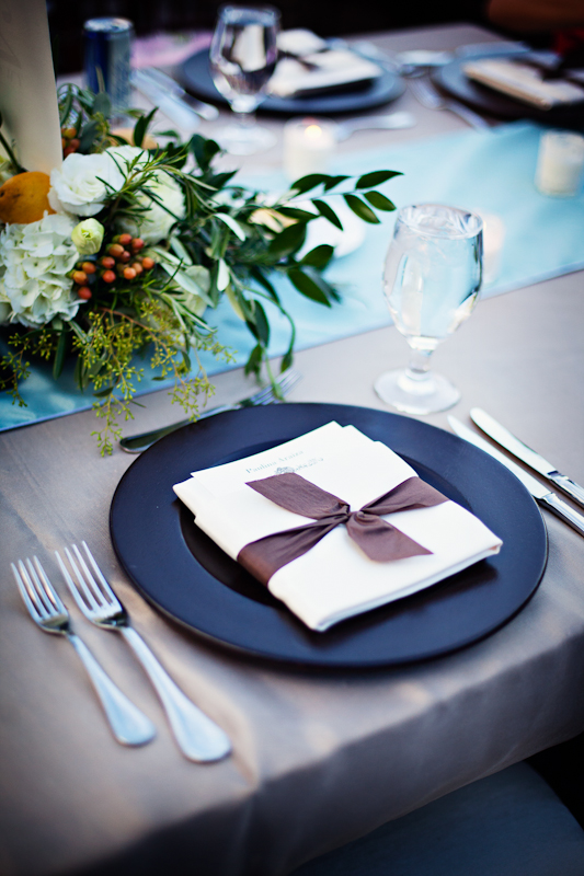 Ribbon-Tied-Place-Setting
