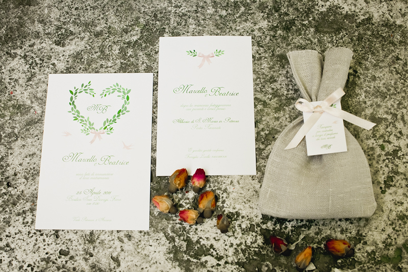 Tuscan Themed Wedding Invitations: Rosebud-Italian-Wedding-Invitations