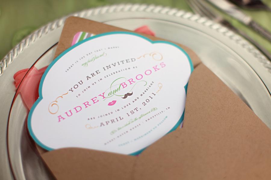 Sweet-Sherbet-Wedding-Invite - Elizabeth Anne Designs: The Wedding Blog