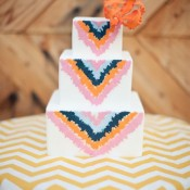 chevron-wedding-cakes