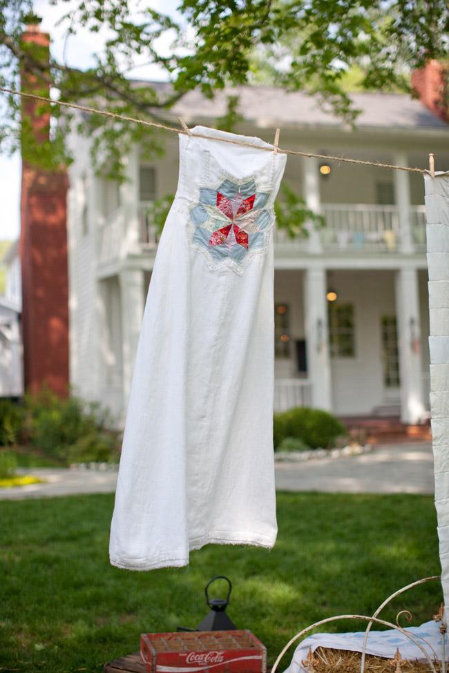 Custom Homemade Wedding Dress Elizabeth Anne Designs