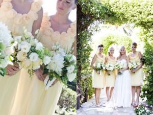 rosette-yellow-bridesmaids-dresses