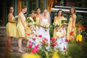 sunny-yellow-bridesmaids-dresses