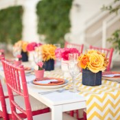 yellow-pink-wedding-colors
