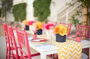 yellow-pink-wedding-colors
