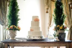 Elegant-Rustic-Cake-Table