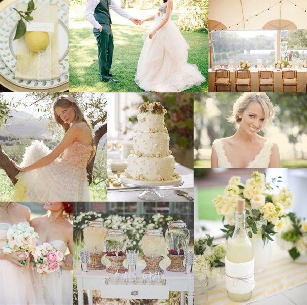 Elegant-Yellow-Pale-Pink-Wedding-Inspiration-Board