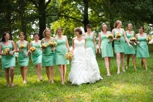 Mint-Green-Bridesmaids-Dresses
