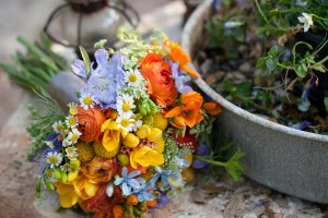 Orange-and-Blue-Wildflower-Bouquet-2