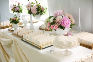 Pink-Gold-Escort-Card-Table